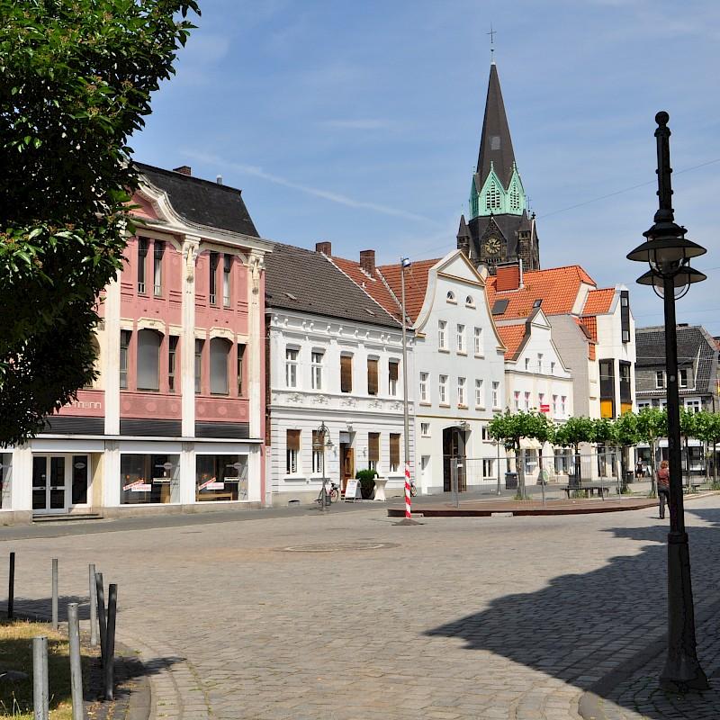 Der Markplatz von Ahlen<br>© Münsterland e.V.