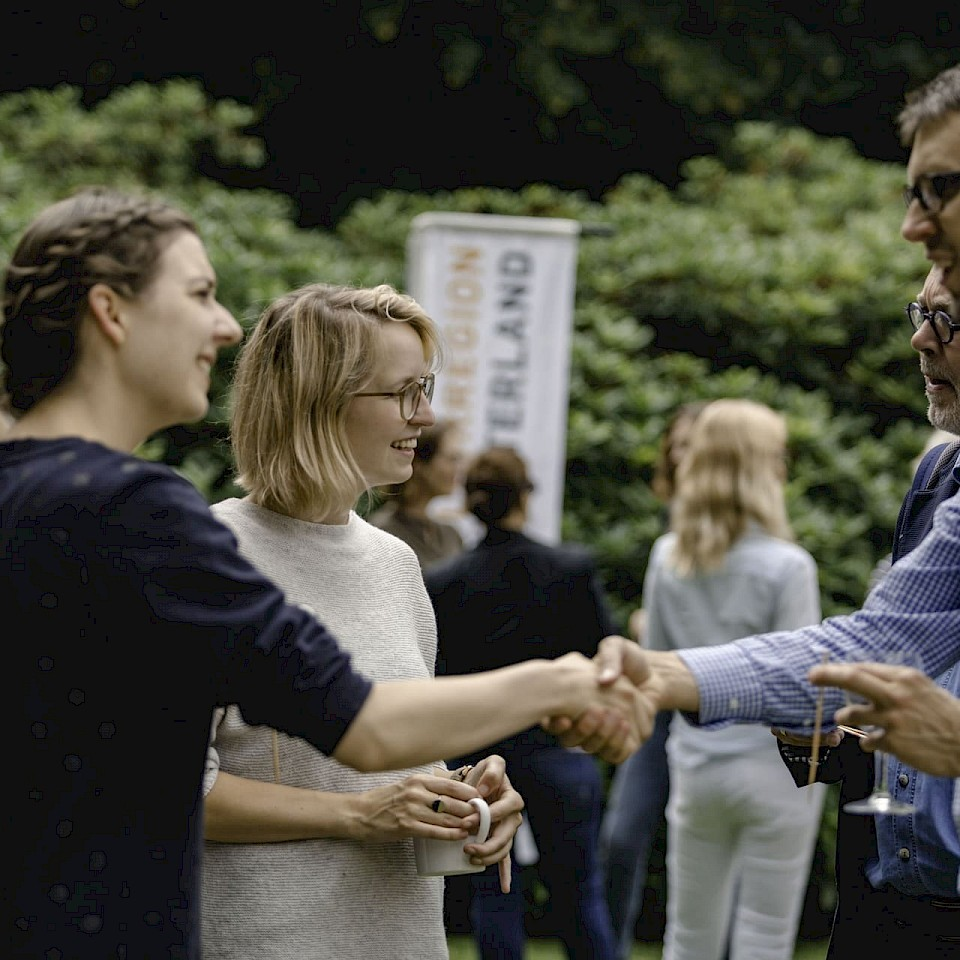 Networking of cultural practitioners in the Münsterland.