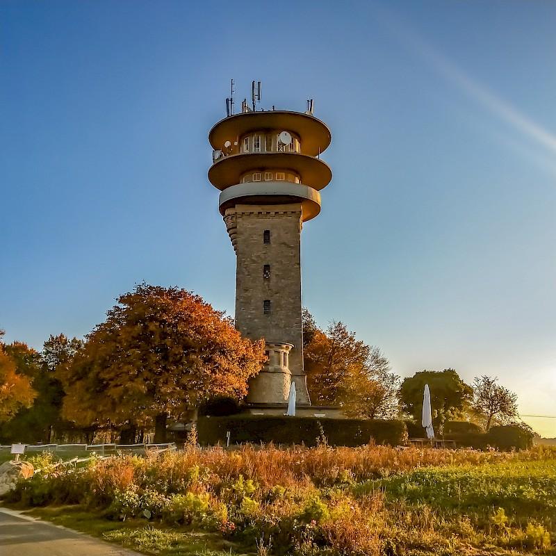 Der Longinusturm markiert den höchsten Punkt im Münsterland<br>© Münsterland e.V.