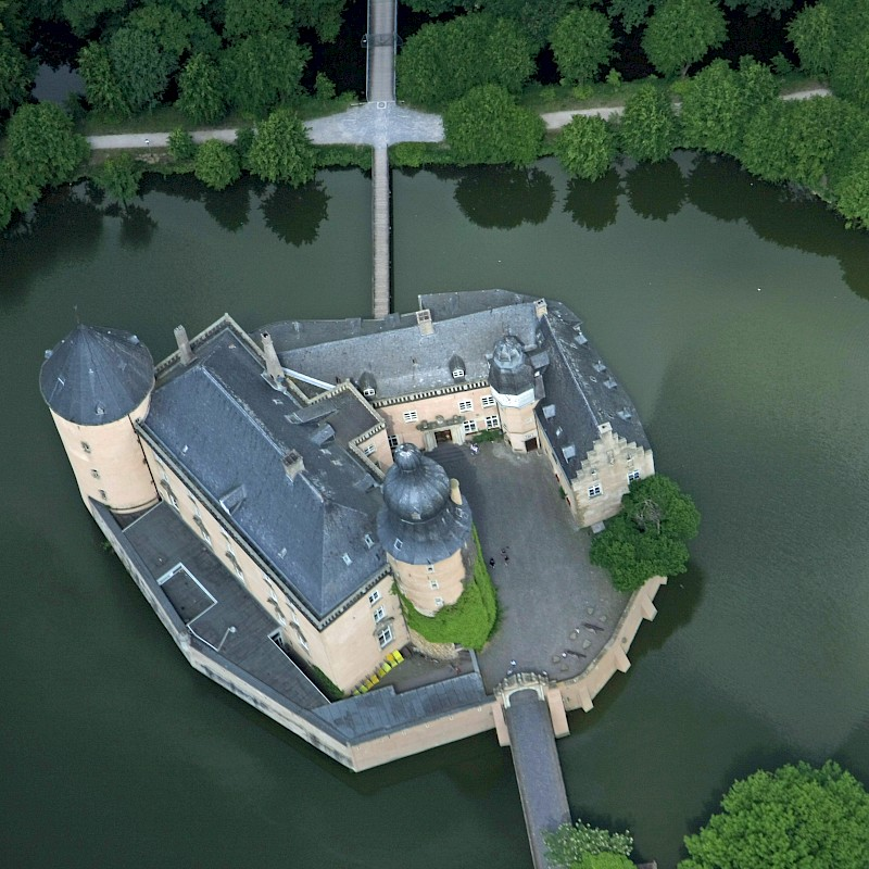 Die Burg Gemen in Borlen<br>© Münsterland e.V.