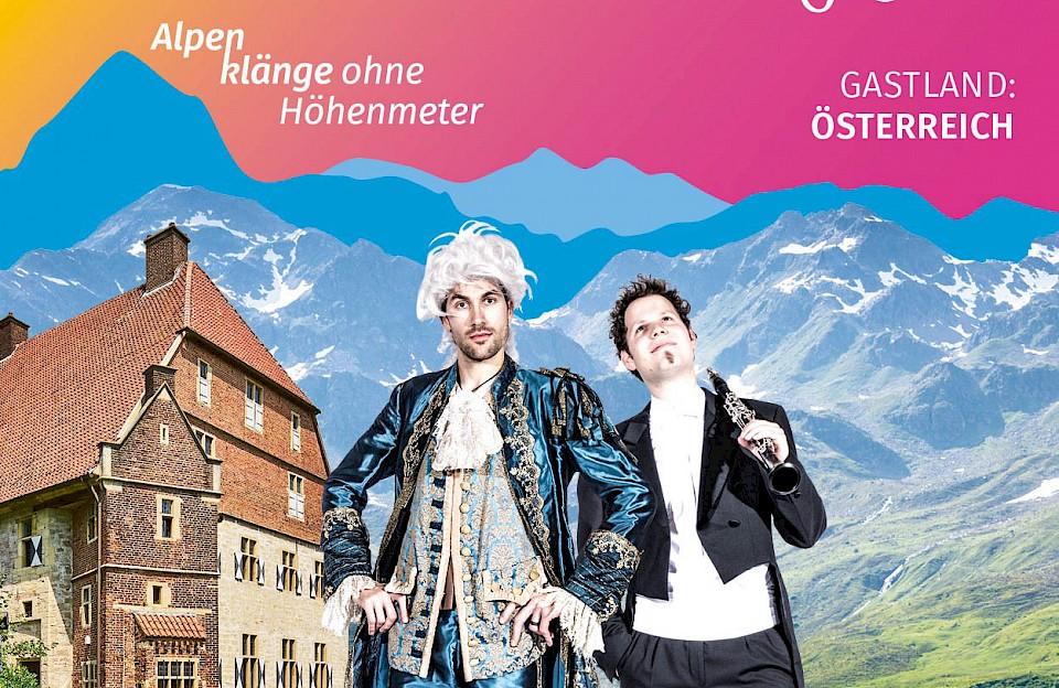 Vom 8. Oktober bis zum 6. November lädt das Münsterland Festival im ganzen Münsterland zu Musik, Kunst und Dialogen ein, dieses Mal mit Österreich als Gastland.