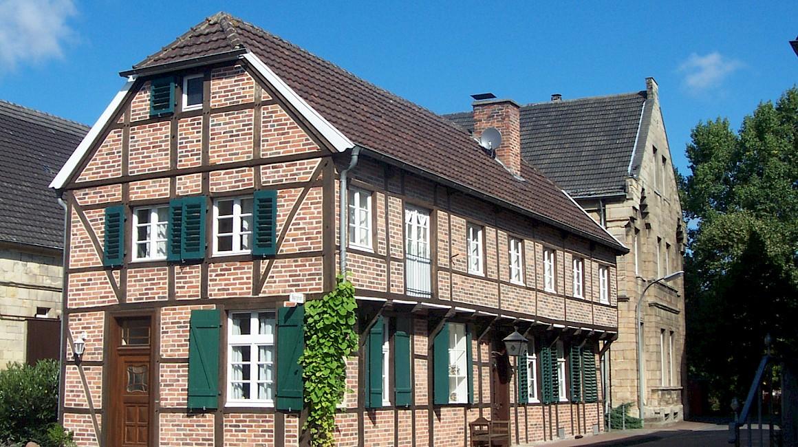 Blick auf den Borghof von Holthausen