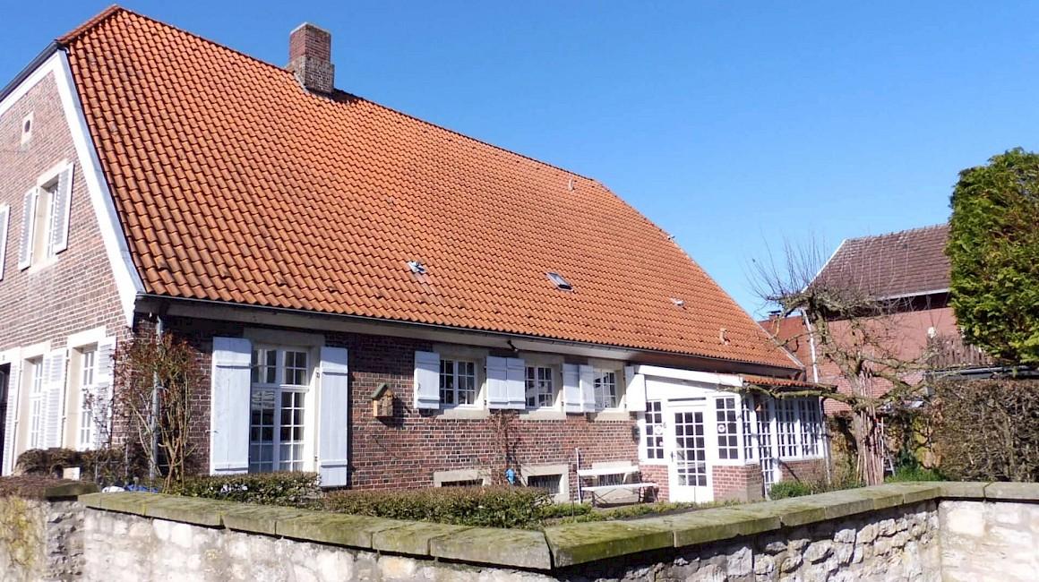 Das Rolliers Haus gehört zu den Baudenkmälern in Laer