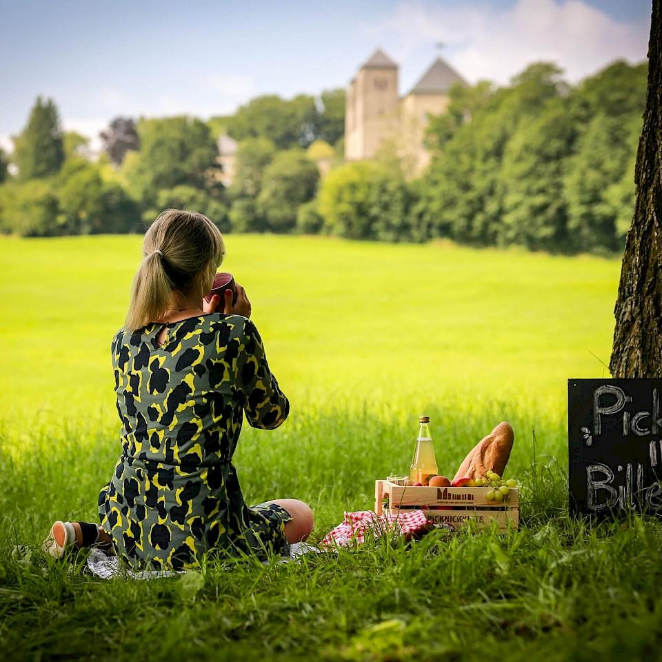 Picknick am Kloster Gerleve mit herrlichem Ausblick