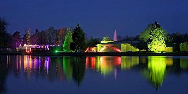 Der Vier-Jahreszeitenpark in Oelde