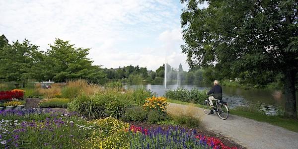Gelände der Landesgartenausstellung in Rheda-Wiedenbrück