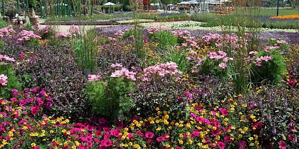Das Gelände der Landesgartenausstellung in Rietberg