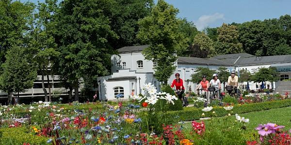 Das herrliche Gelände der Landesgartenausstellung in Paderborn