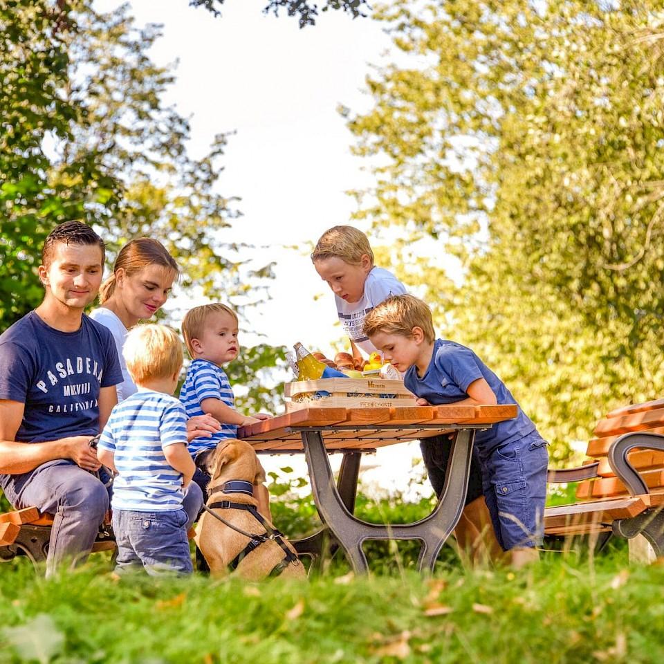 Picknickplatz im Bürgerpark Senden