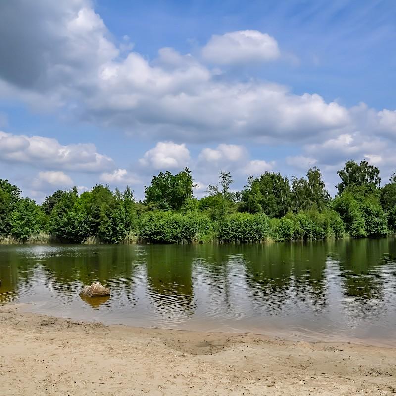 Strandvergnügen am Haddorfer See bei Wettringen<br>© Münsterland e.V.