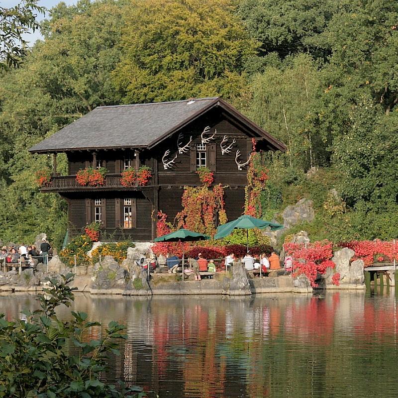 Das Teehäuschen inmitten der Anholter Schweiz<br>© Tourist-Info Isselburg / Tina Schumacher