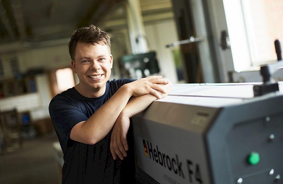 Daniel Hagemeyer ist Inhaber der Tischlerei Hagemeyer in Sassenberg.