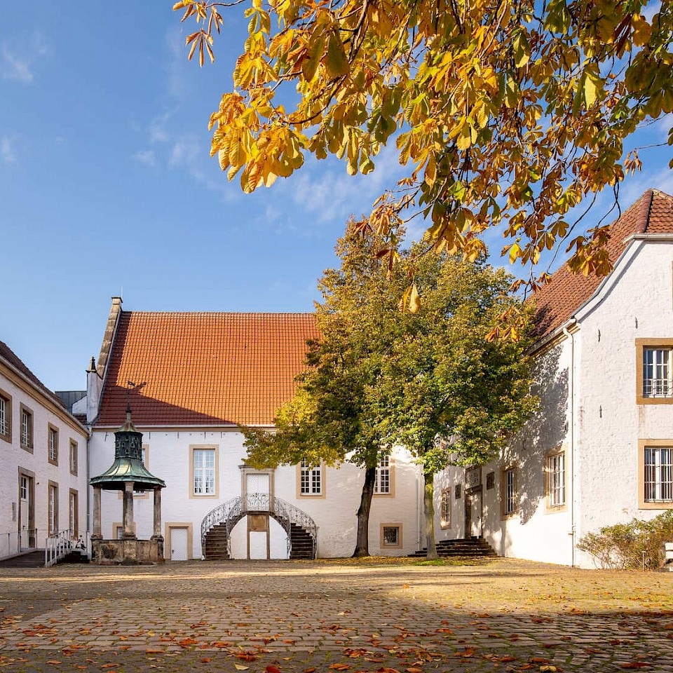 Falkenhof Rheine Kasteel Dag