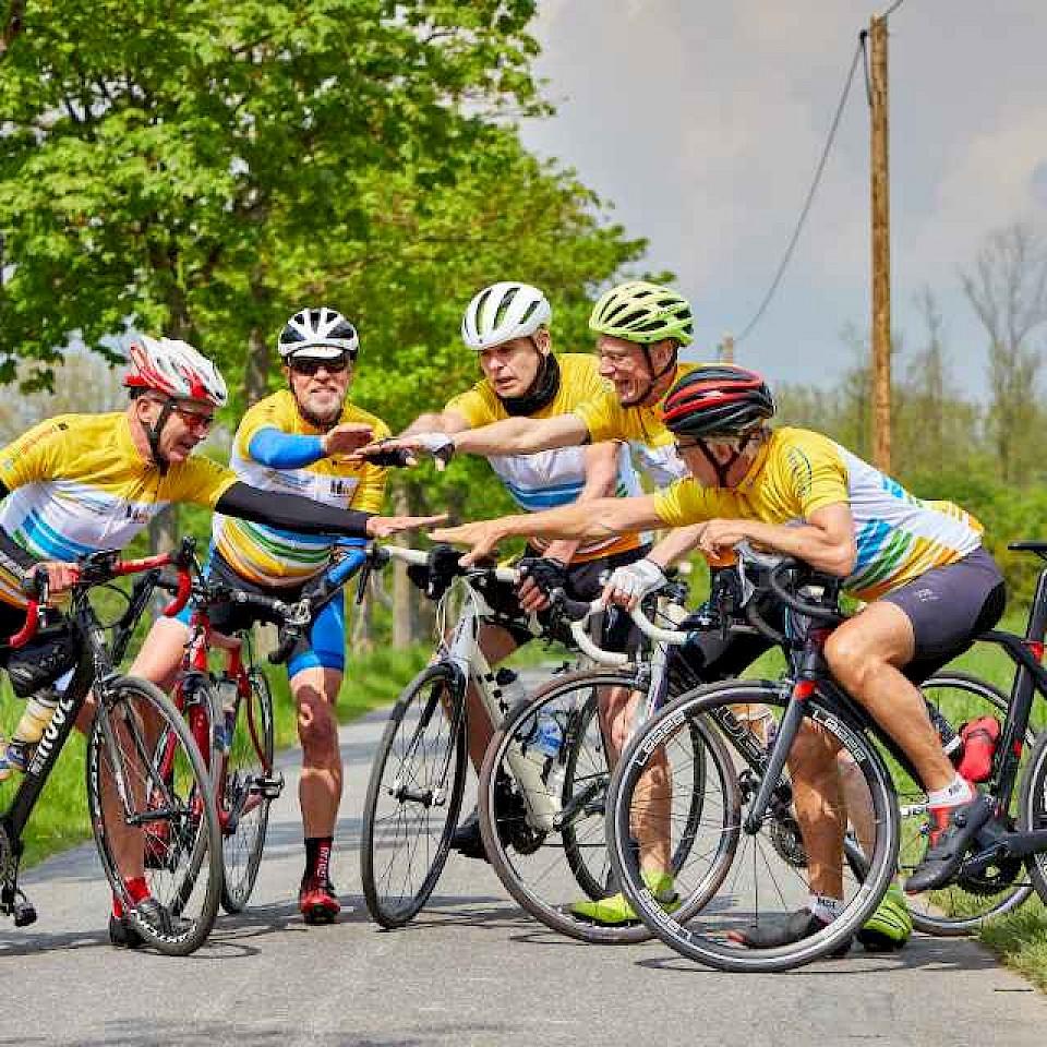 Racefiets tour in het Münsterland