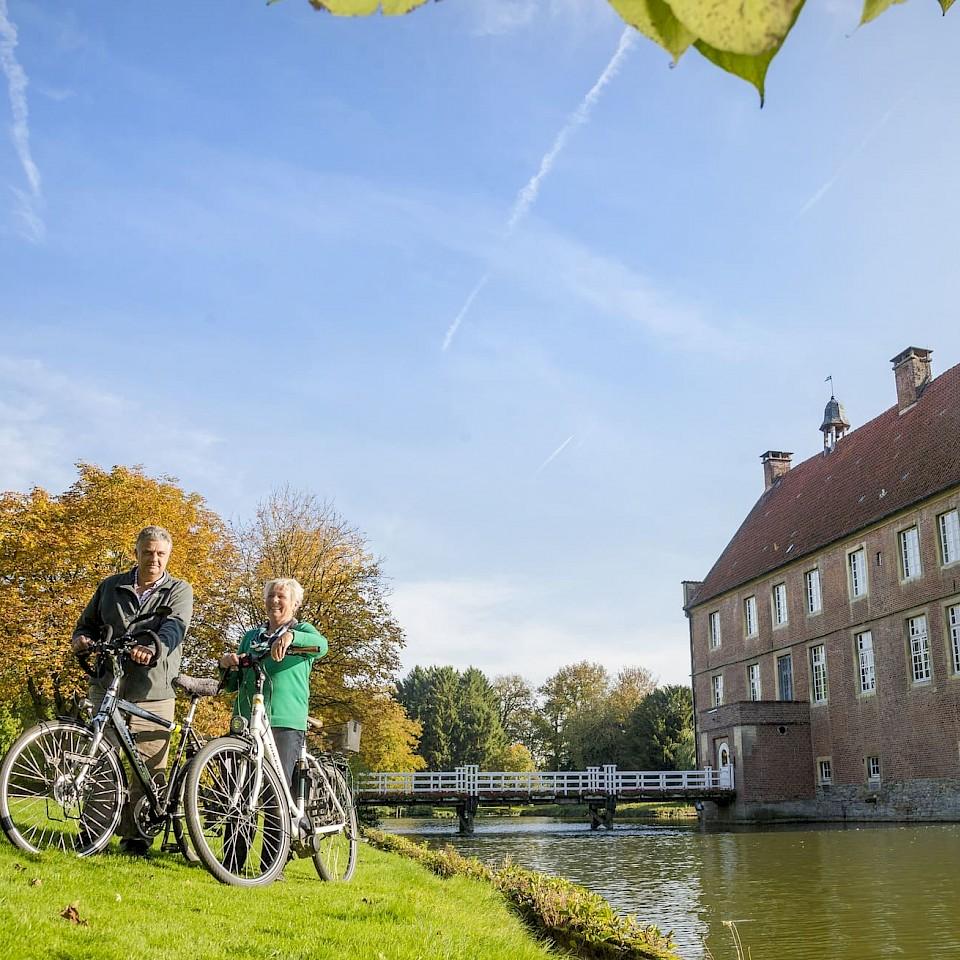 GPS Radtouren an den Schlössern im Münsterland