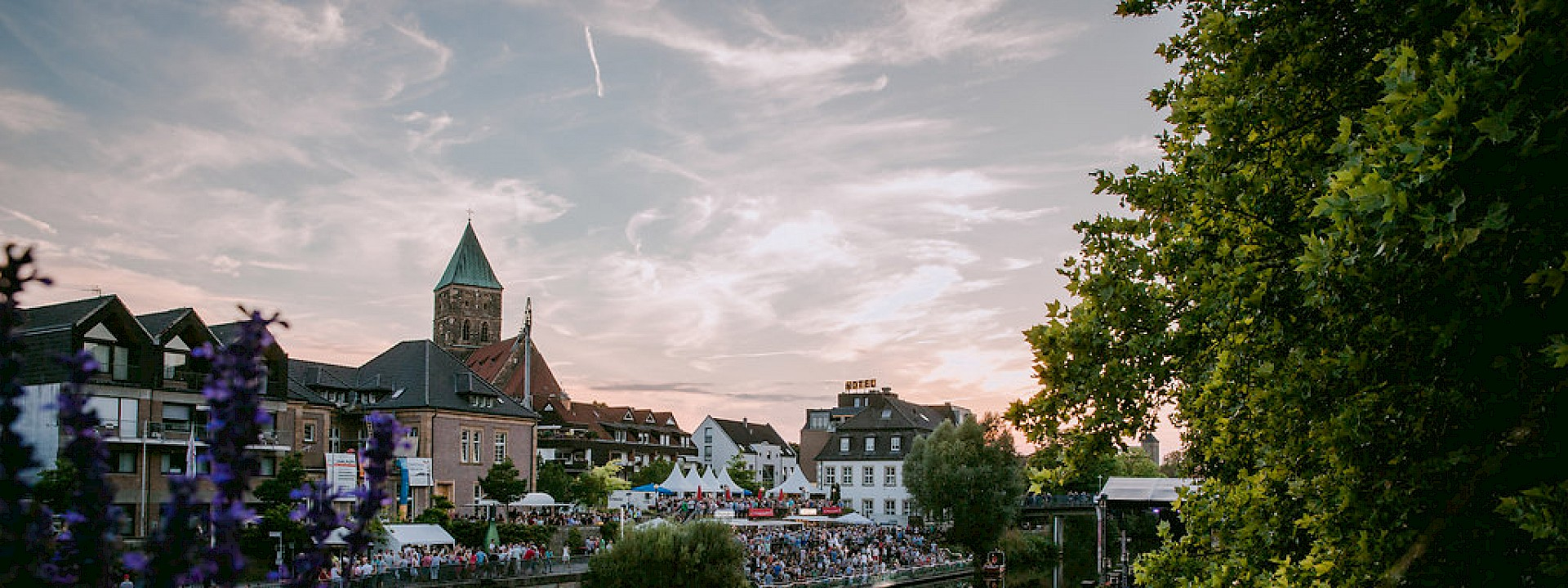 Vier Tage Livemusik, Theater & Show an der Ems EmsFestival