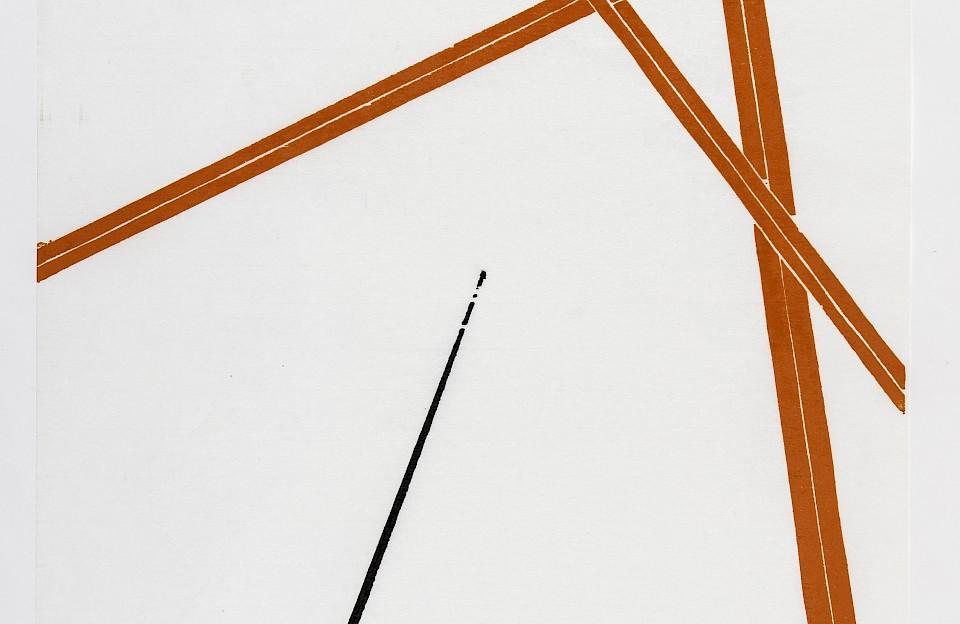 Holzschnitte wie diesen von Camiel Andriessen gibt es ab dem 28. Juli in der Kolvenburg zu sehen.